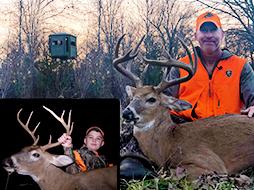 Four Bucks, Three Hunters, Lots of Antlers!