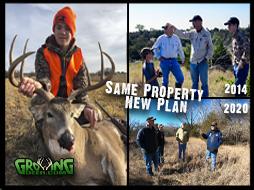 Same Property, 2014 VS 2020: New Plan for Even Bigger Deer!
